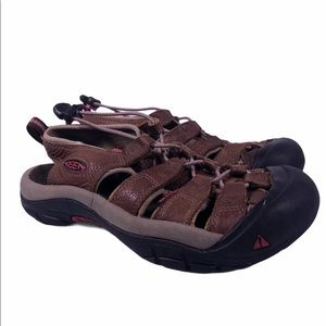 Keen Leather Slip On Water Shoes